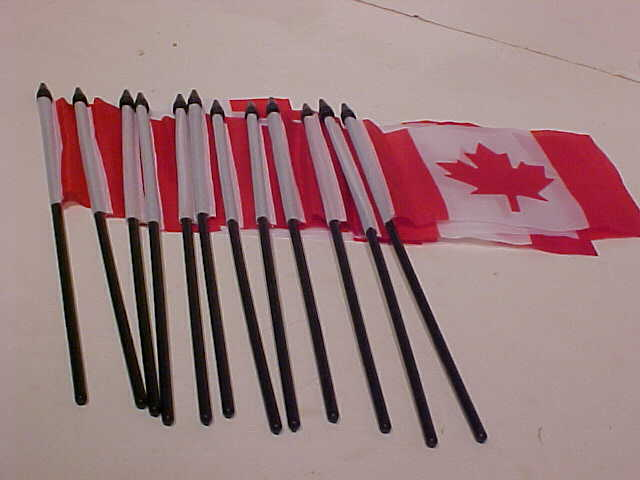 12 pack Canada Flags