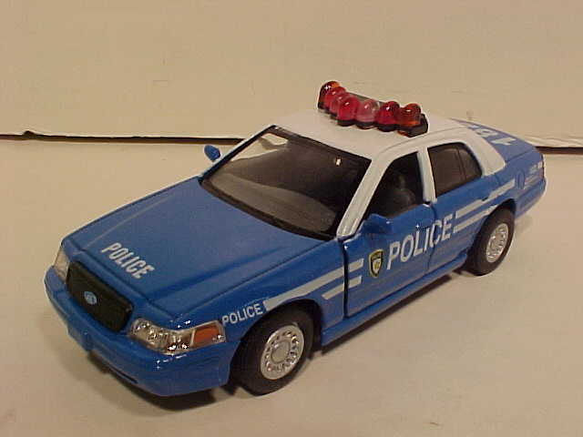 NYC Police Ford Crown Victoria