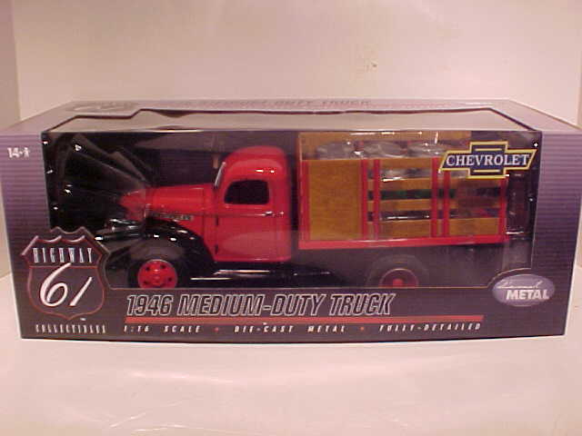 1946 Chevy TRUCK MEDIUM DUTY 1/16 BARRELS