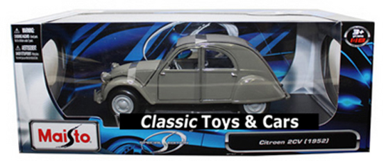 1952 CITROEN 2CV 2CYL GREY