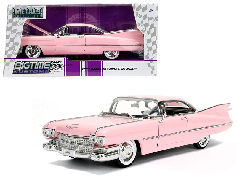 1959 Cadillac Coupe Deville Pink
