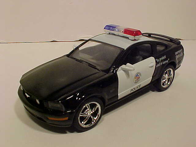 2006 Ford Mustang Police Ca