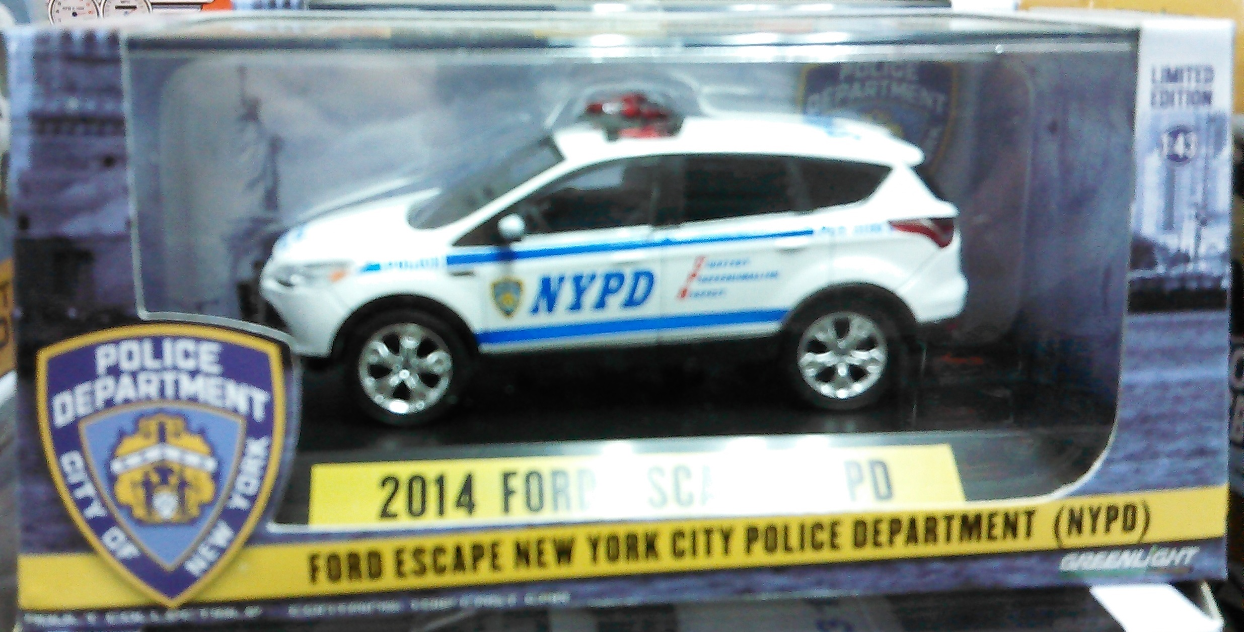 2014 Ford Escape NYPD Police SUV