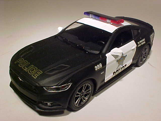 2015 Ford Mustang GT Police Car