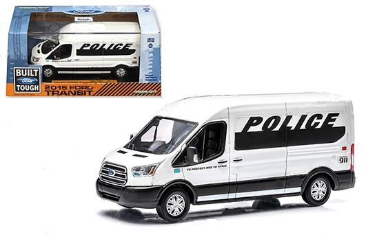2015 Ford Transit Connect Police Van