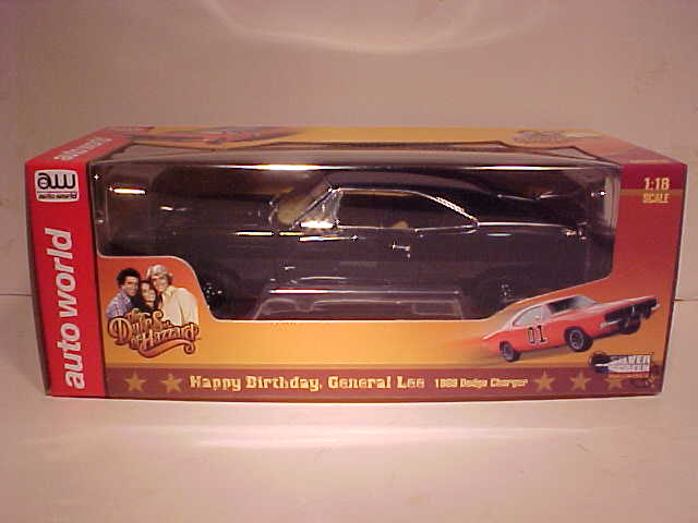 General Lee 1969 Dodge Charger Happy Birthday