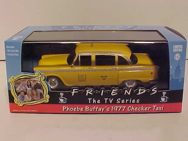 Friend's Phoebe Buffay 1977 Checker Taxi
