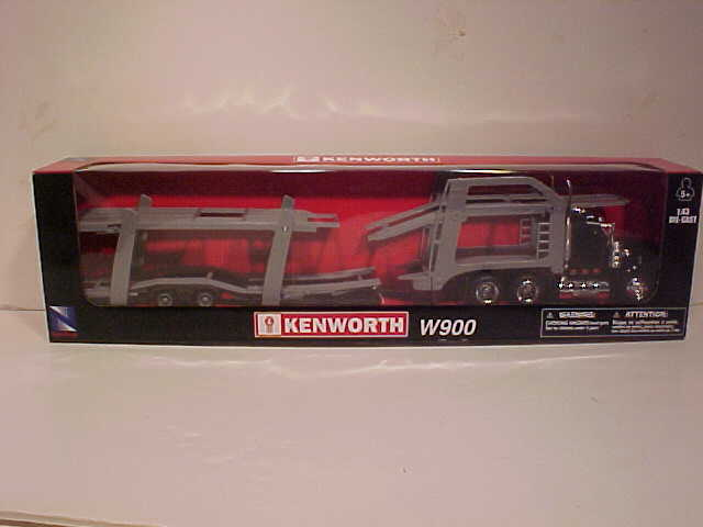 Kenworth W900 Auto Carrier Semi Truck