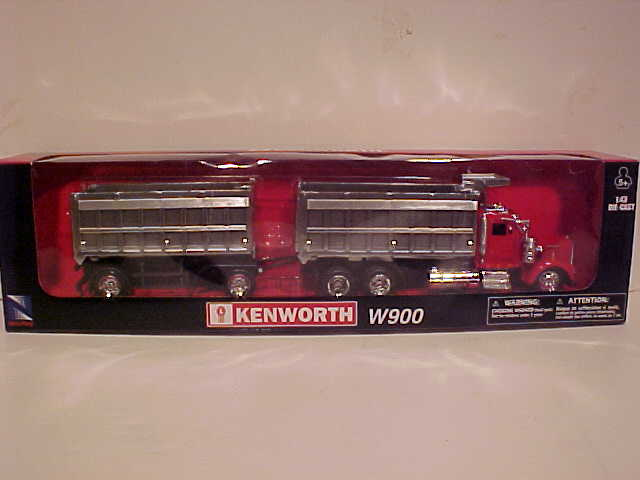 Kenworth W900 Double Dump Semi Truck