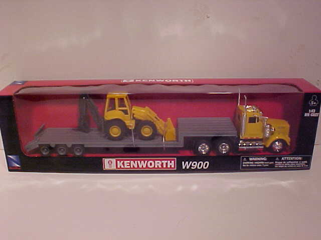 Kenworth W900 Low Boy Semi Truck