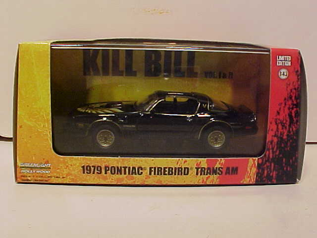 Kill Bill 1979 Pontiac Firebird Trans Am
