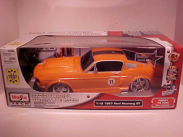 Radio Control 1967 Ford Mustang Fastback