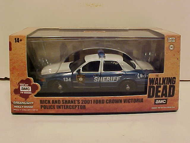 Walking Dead TV Show Ford Crown Victoria Police Car