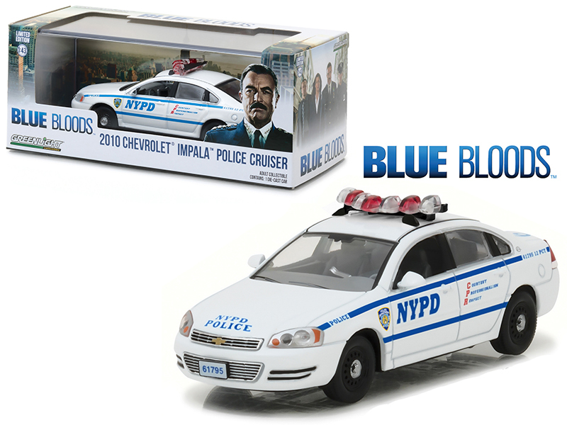 Blue Bloods 2010 Chevrolet Impala NYPD Police Cruiser