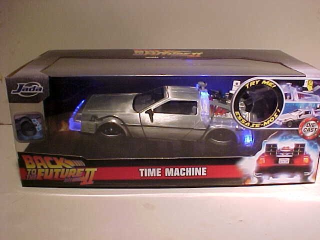Back To the Future 2 Light up 1981 DeLorean Time Machine