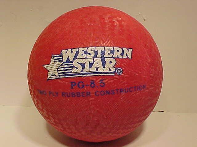 World Famous Classic Toys Dodgeball, Kickball, Handball, Four Square, Wall ball, Playground ball
